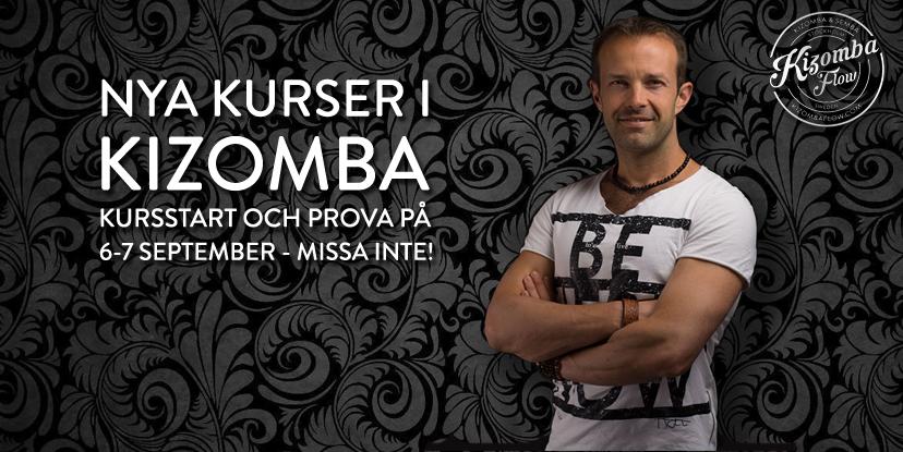 Vill du lära dig kizomba - nu drar de nya kurserna i kizomba igång.