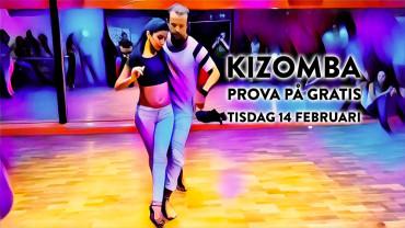 Prova på kizomba gratis i Stockholm